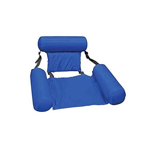 BANGSUN Float Lounge Faltbare Pool Liege Hängematte mit Rückenlehne Stuhl aufblasbar