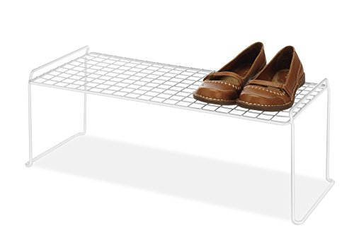 5-Tier Shoe Shelf, Foldable Bamboo Shoe Rack, Multifunctional Free Standing Shoe Storage Shelf, Natural Color Shoe Rack Organizer for Home, Living room, Balcony (20
