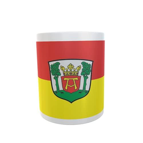 U24 Tasse Kaffeebecher Mug Cup Flagge Aurich