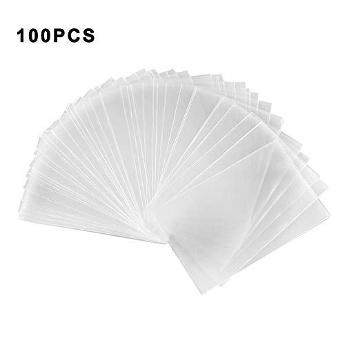 Chalkalon 100 Piezas / 1000 Piezas Mangas Transparentes para Tarjetas Protector de Cartas Magic Poker Transparente Fundas de Cartas de Juego de Mesa