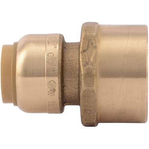 Sharkbite U068lfa 1/5,1 cm en 3/10,2 cm Fnpt Sharkbite sans plomb Réduction connecteur