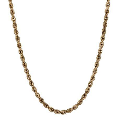 Gioielli di Valenza - Catena Corda in Oro Giallo 18kt - VCC040GG40