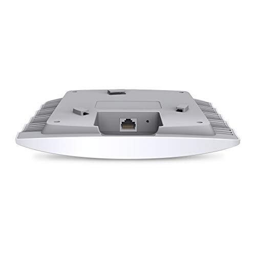 TP-Link EAP110 N300 Wireless Ceiling Mount Access Point, Support Passive PoE and Direct Current, Easily Mount to Wall or Ceiling & TL-SG105 5-Port Gigabit Netzwerk Switch blau metallic