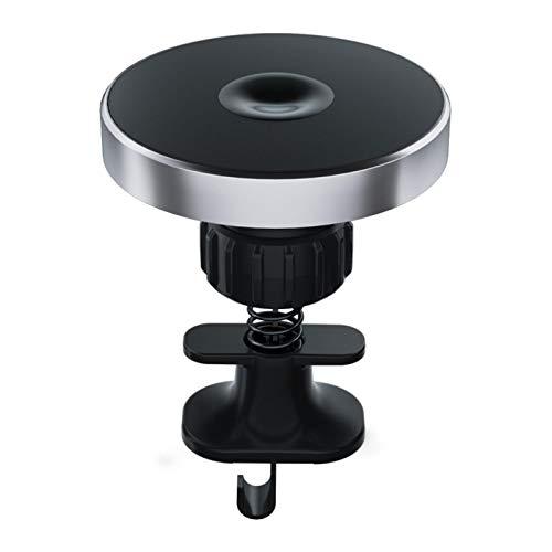 Goodtimera Cargador de coche inalámbrico, 15 W, Qi, cargador rápido Qi, cargador rápido con rotación de 360°, adecuado para todos los teléfonos móviles QI