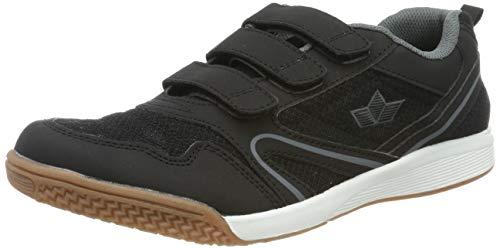 Lico BOULDER V Multisport Indoor Schuhe Unisex Kinder, Schwarz/ Anthrazit, 32 EU