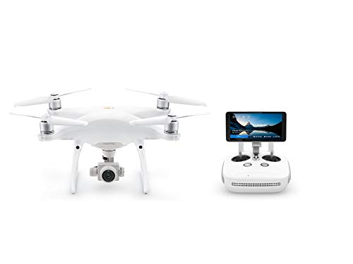 "DJI Phantom 4 Pro Plus V2.0 - Drone Quadcopter UAV with 20MP Camera 1"" CMOS Sensor 4K H.265 Video 3-Axis Gimbal, Remote Controller with 5.5"" Screen, White (CP.PT.00000234.01)"