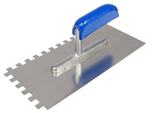 CON:P Zahnglättekelle 280 x 130 / 10 x 10 mm Metall, CP781247