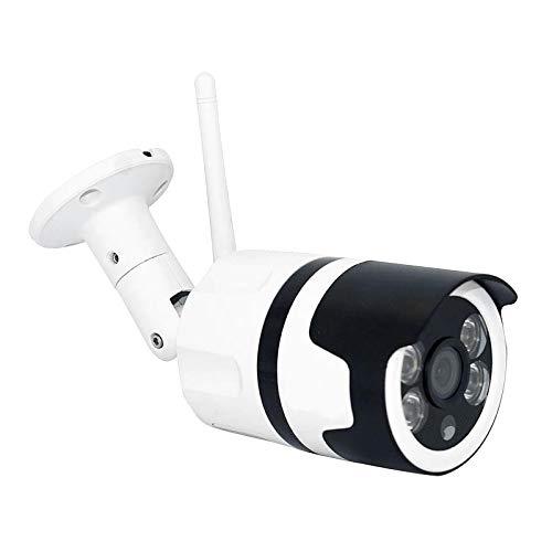 Shiwaki Cámara de Seguridad al Aire Libre, 1080P cámara de Casa IP66 Impermeable WiFi IP cámara con detección de Movimiento de Sonido Facial visión Nocturna