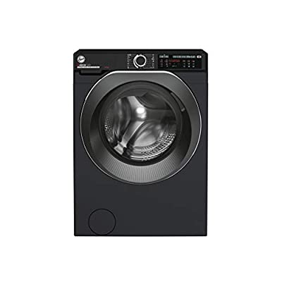 Hoover H-Wash 500 HW414AMBCB Free Standing Washing Machine, Large Capacity, A+++, 14 kg, 1400 rpm, Black
