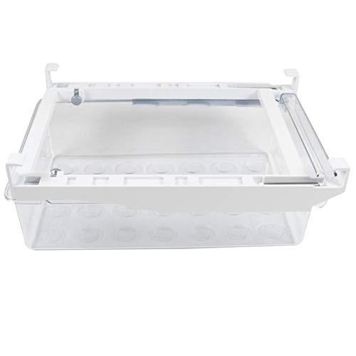 Mobestech Plastic Koelkast en Vriezer Opbergbak Waterfles en Bekerhouder Voor Keuken Kelder Garage Koelkast