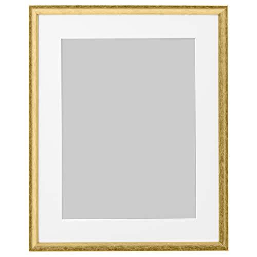 SILVERHÖJDEN ram 40 x 50 cm guldfärgad