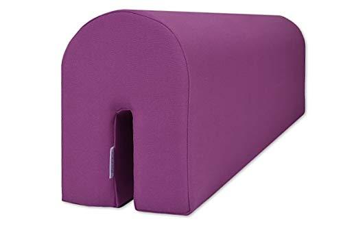 Barrier Guard – Paracolpi In Schiuma Per Sponde Del Letto, A Protezione Del Bambino, Sicuro E Confortevole, Purple, 14X20X73