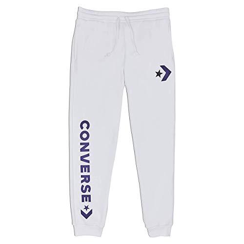 Converse Star Chevron Graphic Jogger White Heren Joggingbroek Sweat Pants White