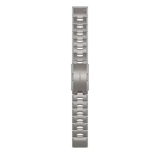 Garmin Pulsera Quick Fit, 22 mm, titanio