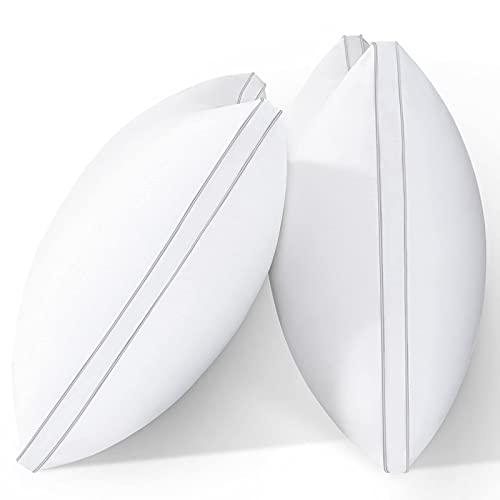 viewstar Almohadas estándar para dormir, 2 unidades de almohadas de calidad de hotel, almohadas hipoalergénicas alternativas