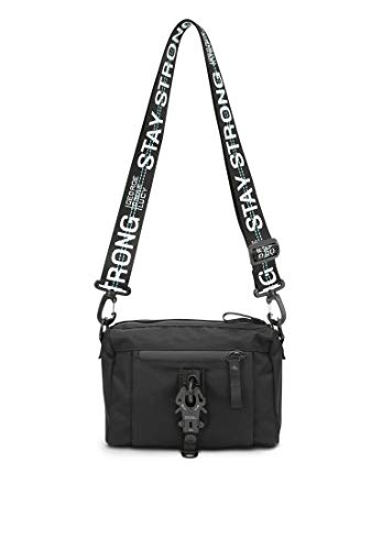 George Gina & Lucy Roots Strong The Drops Bolso de Hombro Negro