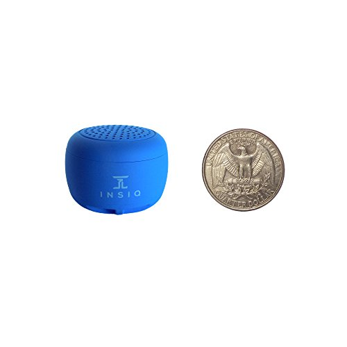 World's Smallest Portable Bluetooth Speaker - Great Audio Quality for its Size - 30+ Feet Range -...
