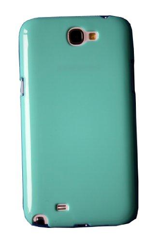 MYCARRYINGCASE Funda rígida para smartphone CandyShell (verde, Samsung Galaxy Note 2 N7100)