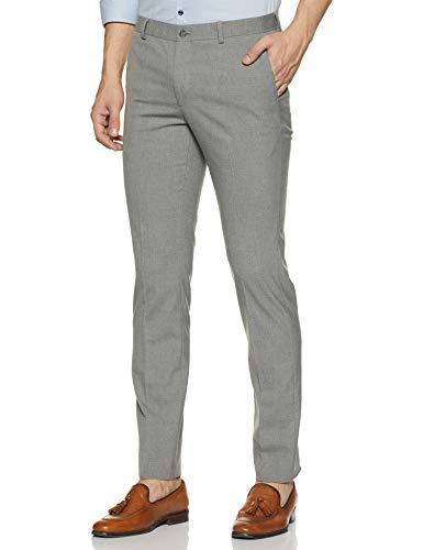 Amazon Brand – Symbol Men's Slim Fit Formal Trousers