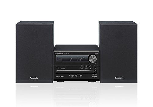 Panasonic Micro HiFi System SC-PM250EG-K (20 Watt RMS, CD, Radio UKW, Bluetooth) Noir