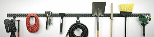 Stout Stuff Garage Organization Modular Starter Kit, 10 Piece, Black