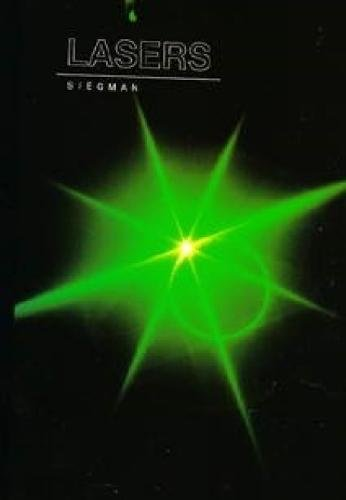 Lasers by Siegman, Anthony E. (1986) Hardcover
