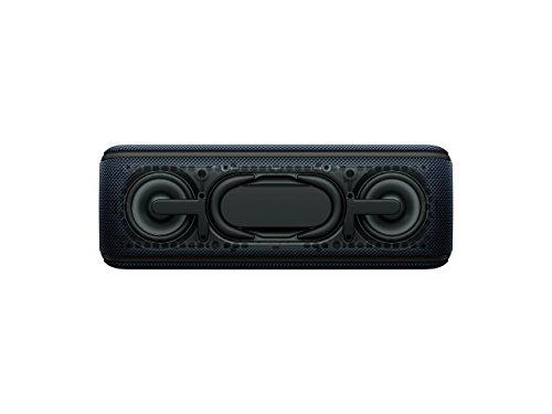 Sony SRS-XB41B, Altavoz Portátil Bluetooth (Extra Bass, Modo Sonido Live, Party Booster, Luces de Fiesta Llamativas, Conector USB para Cargar Smartphone), Inalámbrico y Alámbrico, Negro