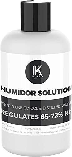 CASE ELEGANCE(ケースエレガンス)クラロ 葉巻 ヒュミドール ソリューション 湿度 コントロール シガー ヒュミドール−特別処方 50%蒸留水 50%プロピレングリコール(250 ml)
