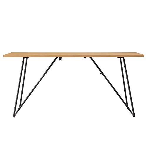 無印良品 折りたたみテーブル・幅160cm・オーク材 幅160×奥行70×高さ72cm 02603977