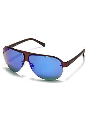 Guess Gafas de Sol Hombre GF0148-6449X, Braun, NS Unisex-Adult