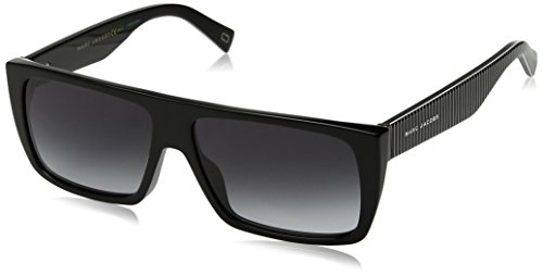 Marc Jacobs Marc Icon 096/S 9O 807 57 Occhiali da Sole, Nero (Black/Grey), Unisex-Adulto