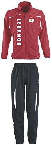 Aprom-Sports Libanon Trainingsanzug - Sportanzug - S-XXL - Fußball Fitness (L)