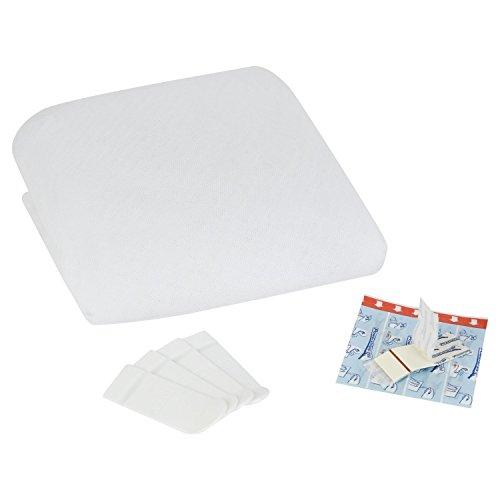 tesa® Insect Stop Fliegengitter für Dachfenster, 1,20m x 1,40m (Comfort weiß, 3er Pack)