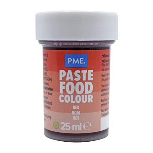 Colorante Alimenticio PME Rojo de Baya 25 g