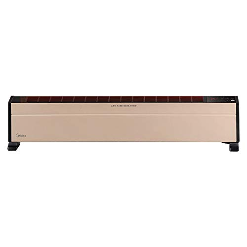 DLGF Calentador Electrico,Calefactor Convector,Oscilantes con Protección Anti-inclinación,con Termostato,Modo Ecológico, Negro.