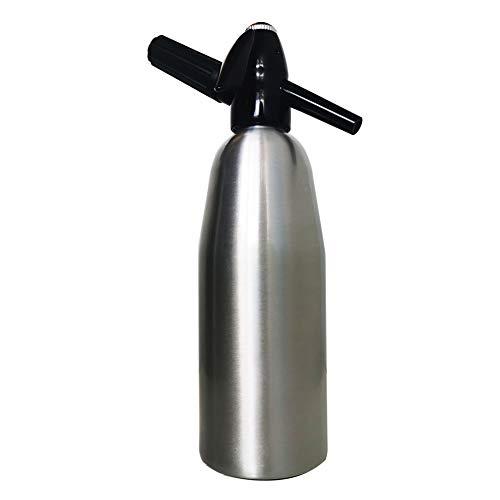 Aluminum Alloy Soda Siphon 1 Liter (Silver)