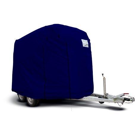 Original CAPA Schutzhaube blau für 2er Pferdeanhänger Pferdetransporter Pferdehänger als Abdeckung Schutz Cover Schutzhülle Garage