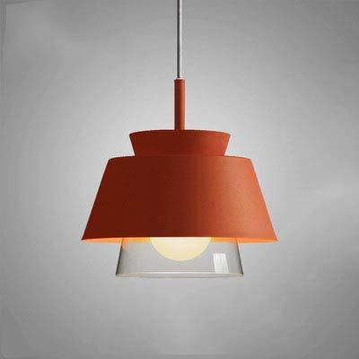 DONGYAN Kreative Und Einfache Dekorative Lampe Beleuchtung Lampe Design Kronleuchter Zimmer Studie Restaurant Café Gang Arbeitszimmer, Korridor, Schlafzimmer,Orange