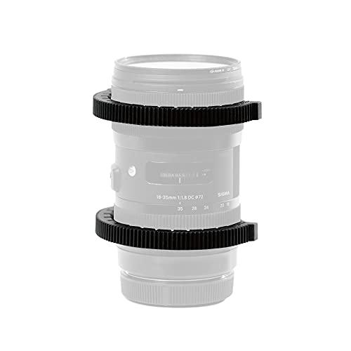PDMOVIE Lens Gear Ring 0,8 Mod Flexibel für Follow Focus – 42 mm bis 82 mm (3 Pakete)