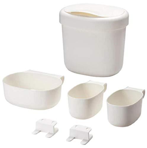 ÖNSKLIG Behälter 4er-Set, weiß
