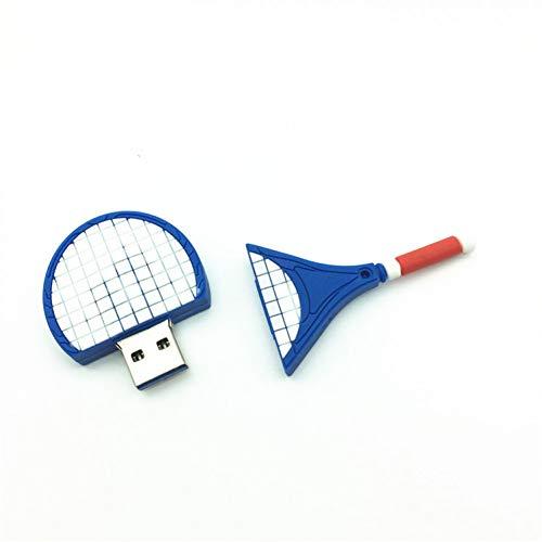 NA USB Unidad De Disco De Disco U De Alta Velocidad 8 GB / 16 GB / 32 GB Raqueta De Tenis A Granel USB 3.0 Flash Drive Flash Memory St