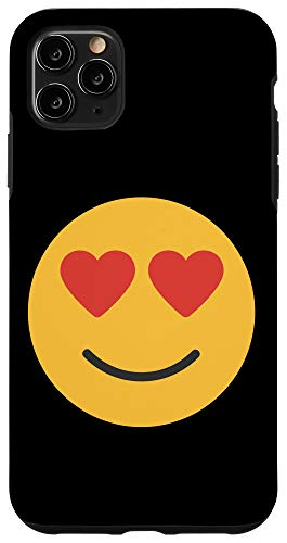 iPhone 11 Pro Max In Love Emoji Valentines Day Boys Girls Gift Case