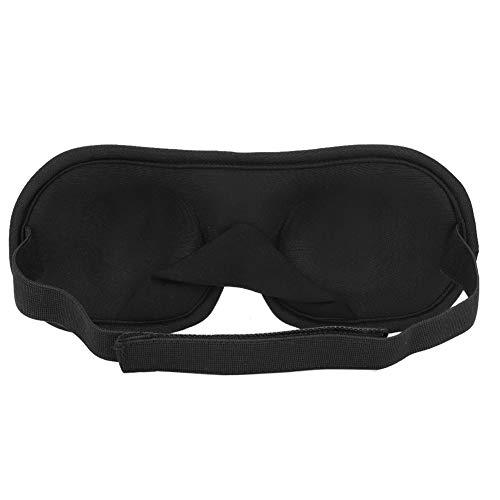 Masque pour les yeux de sommeil 3D, couverture d'ombre repos sommeil eyepatch éponge bandeau bouclier ombre couverture voyage aide au sommeil pour femmes et hommes sieste/voyage/décalage