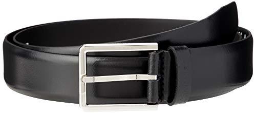 Calvin Klein 3.5cm Bombed Belt Cintura, Nero (Black Bds), 7 (Taglia Produttore: 105) Uomo