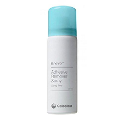 Coloplast Brava Remover Spray per la Rimozione Dolce degli Adesivi Medicali, 50 ml