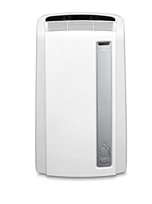 De'Longhi Pinguino PACAN112 Silent | Portable Air Conditioner with Real Feel Technology | 110m³, 11,000 BTU, A+ Energy Efficiency