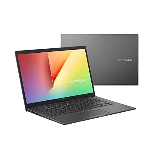 "ASUS VivoBook 14 S413 Thin and Light Laptop, 14"" FHD Display, AMD Ryzen 5 5500U Processor, 8GB DDR4 RAM, 512GB PCIe SSD, Fingerprint, Windows 10 Home, Indie Black, S413UA-DS51"
