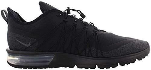 Nike Herren Air Max Sequent 4 Utility Fitnessschuhe, Schwarz (Black/Anthracite/White 002), 46 EU