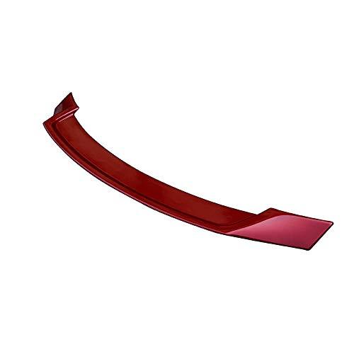 Mazda 3 Spoiler, Passend für Mazda 3 AXELA Spoiler Qualität ABS Heckspoiler, Enthält professionelle Klebstoffe,Red