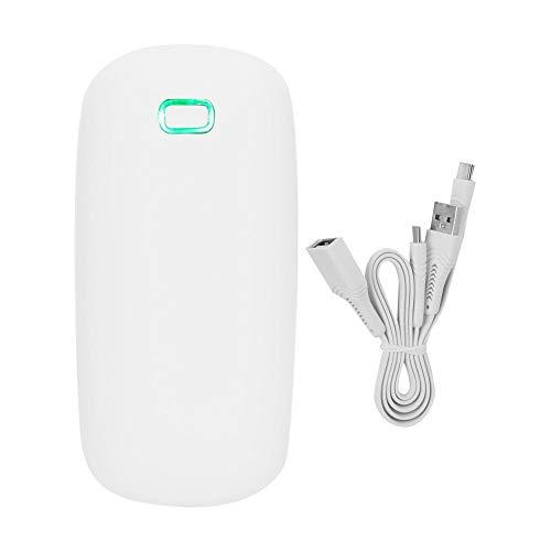 Elektrische handwarmer, 4000 mAh, draagbaar, USB, herbruikbaar, dubbelzijdig, thermostatisch, elektrische handwarmer, voor vrienden en familie